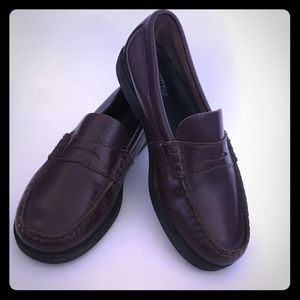 Sperry Top Sider Brown Penny Loafer Dress Shoes